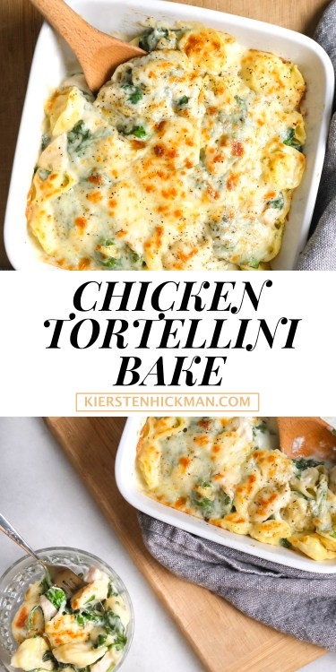 chicken tortellini bake
