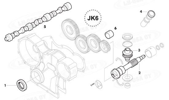 Moottorin osat : Kiertokanki.com