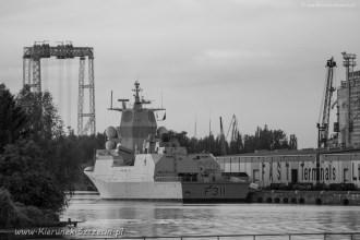 2017 06 01 Szczecin, BALTOPS 2017, F 311