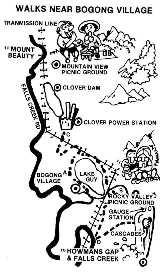 Activities at Mount Beauty, Falls Creek and Alpine