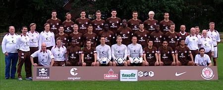 Mannschaftsfoto FC St. Pauli, Saison 2007/08