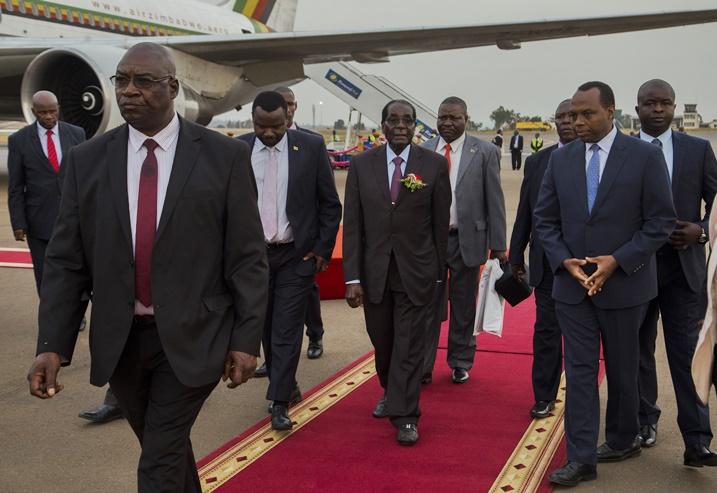 Mugabe in Rwanda