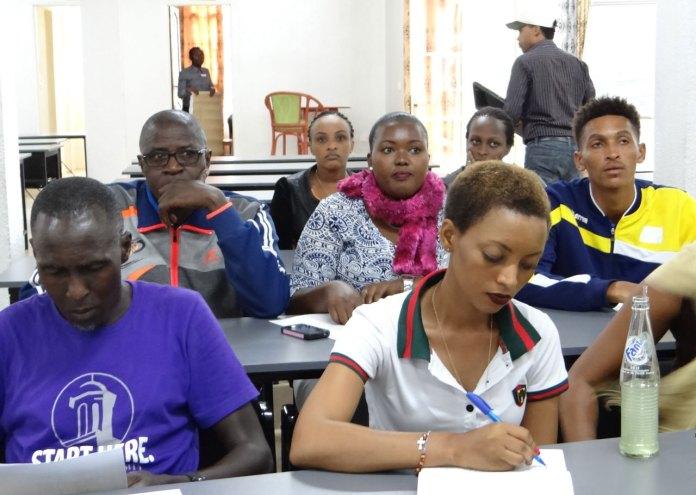 Triathlon: Amahugurwa arakomeje i Rubavu ku batoza n'abasifuzi 30