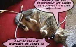 Desconecta los cables
