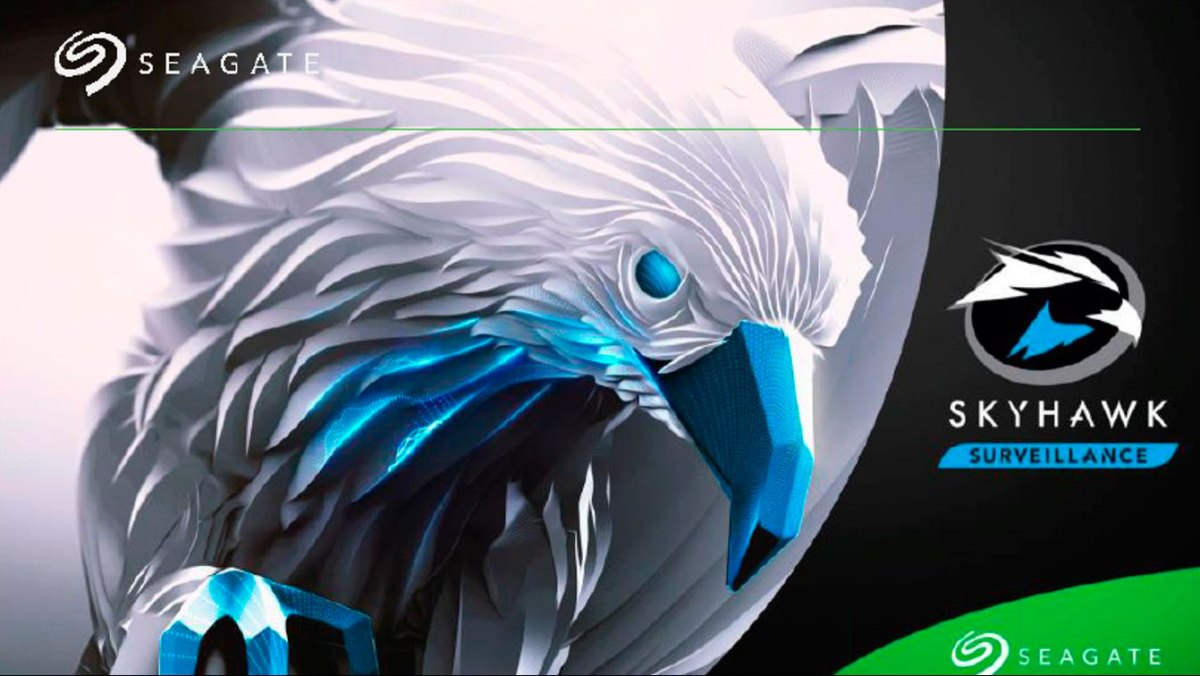 Seagate Skyhawk, un disco duro dedicado a videovigilancia