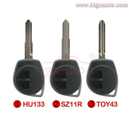 Image Kia Remote Shell 2 Button Car Smart Remote Key Case For Kia