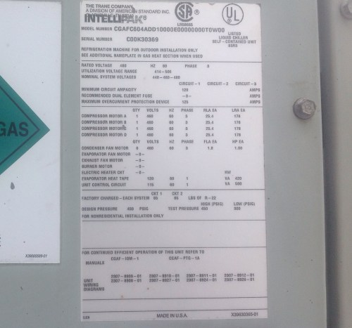 small resolution of trane wiring diagram 2307 index of images hvac air cooled chillers tranerh