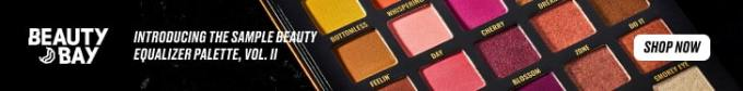 Beauty bay palette ad banner