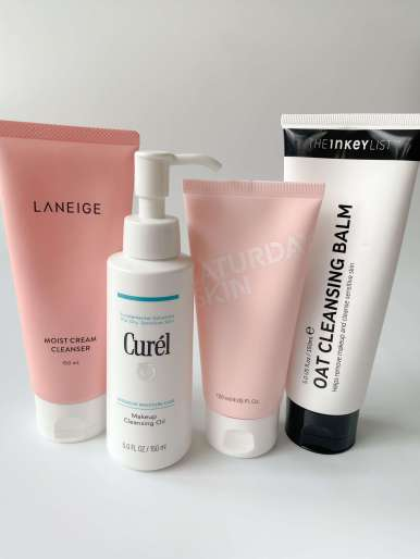 cleanser selection