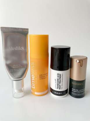 4 different serums to use in an evening skincare routine