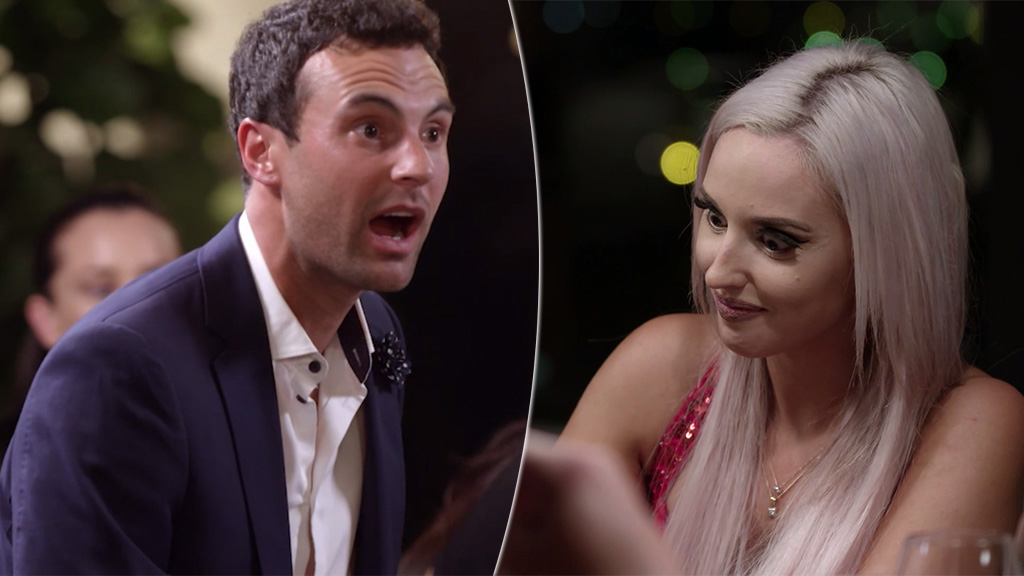 The Cringe Moment From Last Night S Mafs Dinner Party