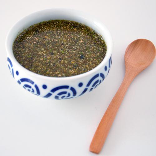 Sopa de miso y chía