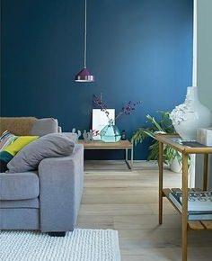 Interieur inspiratie nodig Doe eens wat met de kleur blauw