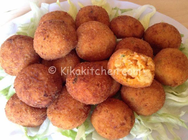 Polpette di zucca gialla fritte o al forno  Kikakitchen