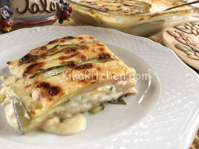 Parmigiana Bianca Di Zucchine Ricetta Facile E Veloce