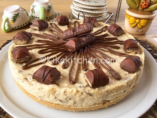 Cheesecake kinder bueno senza cottura Ricetta passo passo