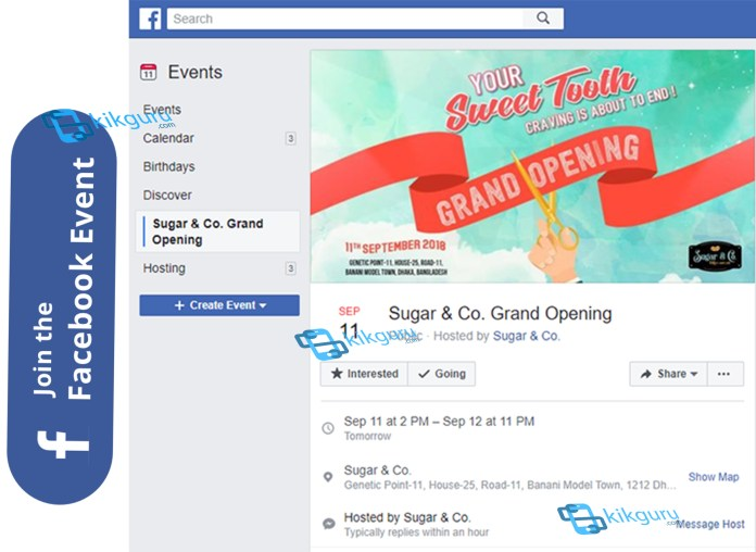 Facebook Event - Create and Manage an Event On FaceBook   Facebook Live Event Account