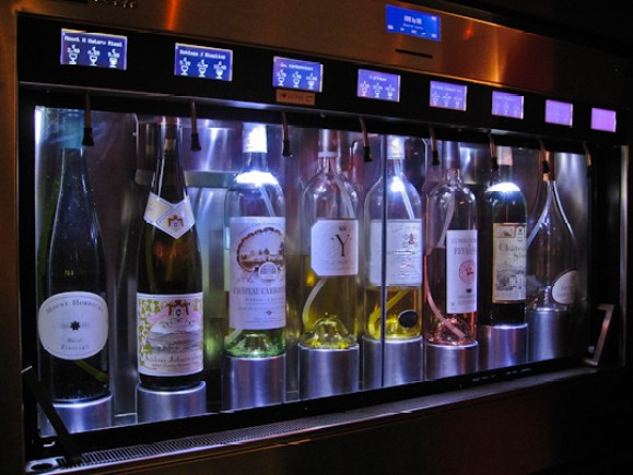 Le self-service du Wine by one