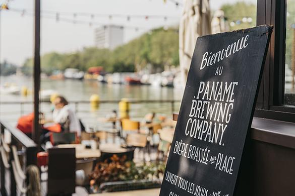 Les beaux jours reviennent et notre envie de terrasse aussi. Je suis comme tout le monde, j'aime être dehors quand il fait beau. Je suis donc allé me balader dans le 19ème arrondissement en longeant les quais de Seine. Je suis donc tombée sur le Paname Brewing Company.