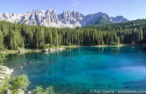 Lago Carezza, Alto Adige, Italy