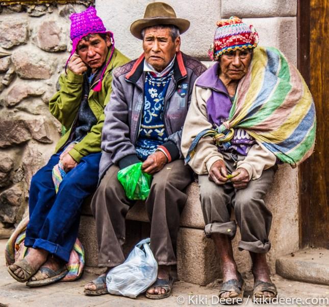 A Spot of Bother, Pisac, Peru