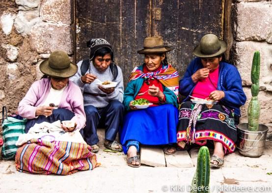 Mid-morning Snack, Pisac, Peru