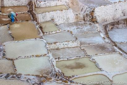 Salt Pans, Sacred Valley, Peru