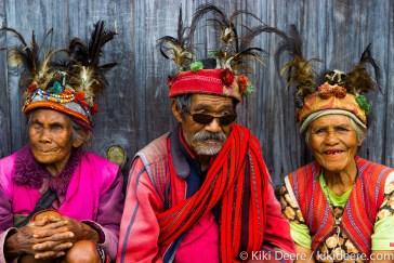 Ifugao Men & Women, Coridilleras, Philippines