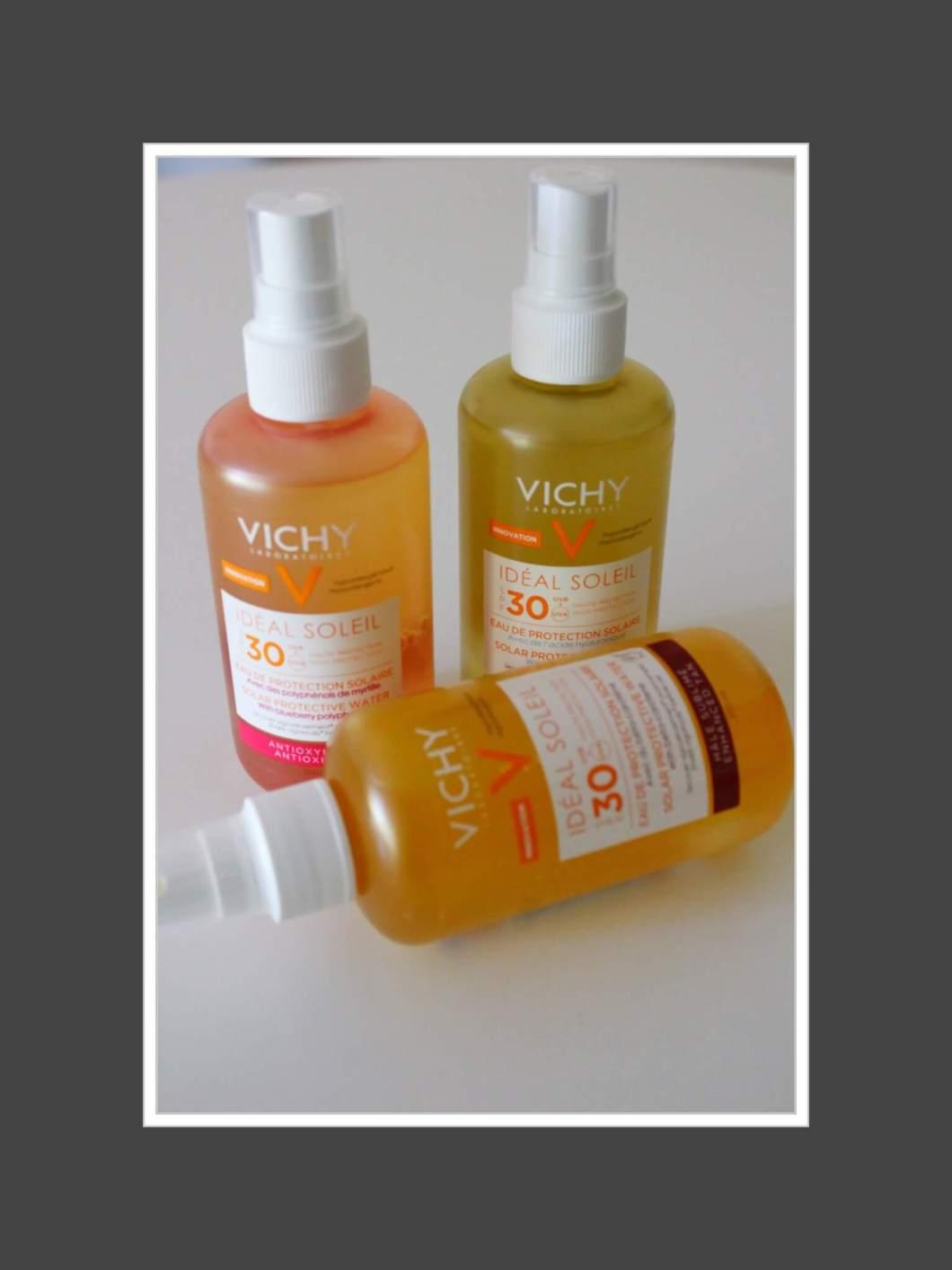 Vichy Ideal Soleil's Zonbeschermend water