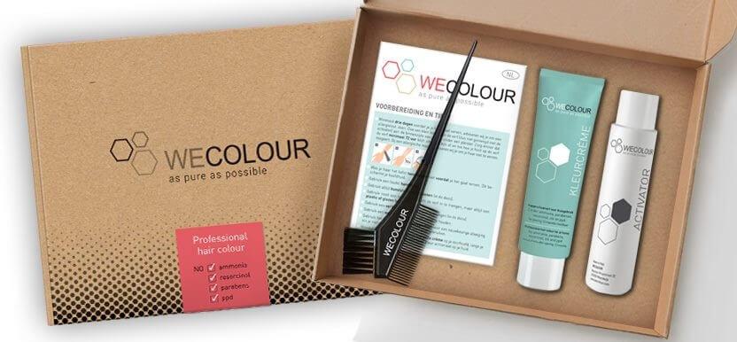 WECOLOUR: zelf je haar verven met kappers-kwaliteit verf?
