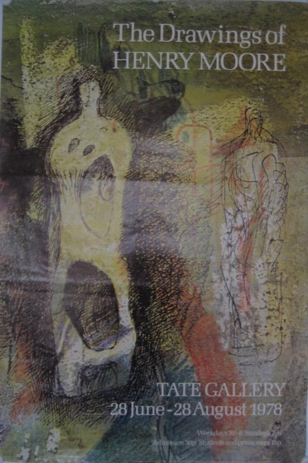 Drawings Of Henry Moore Tate 1978 Kiki Werth