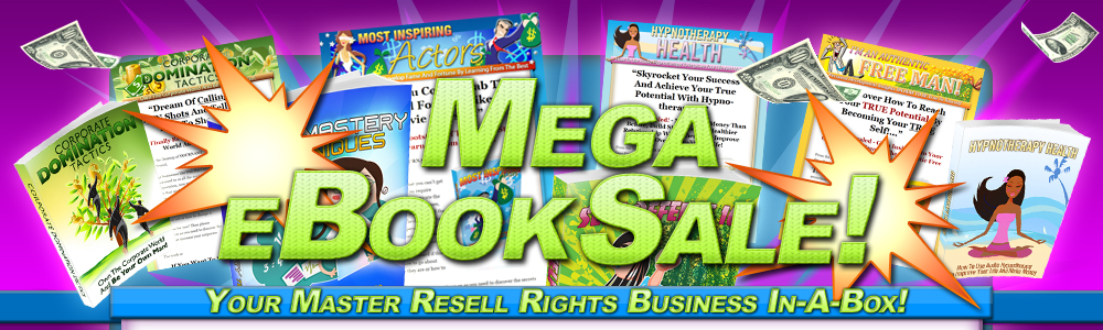 Mega Fire Sale electronic books