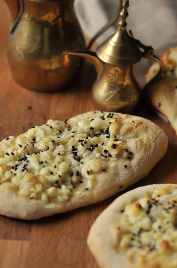 Akkawi Manakeesh - Arabic Cheese Bread