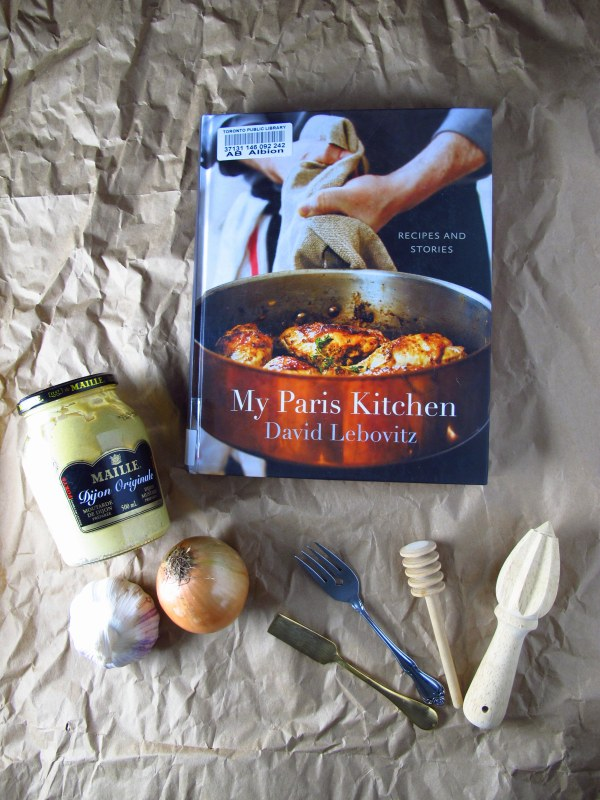 The Year in Books January with My Paris Kitchen by David Lebovitz, Kiku Corner