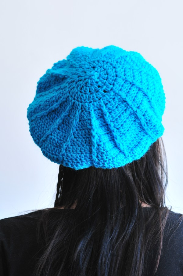 DIY: Crochet Cable Beret Free Pattern