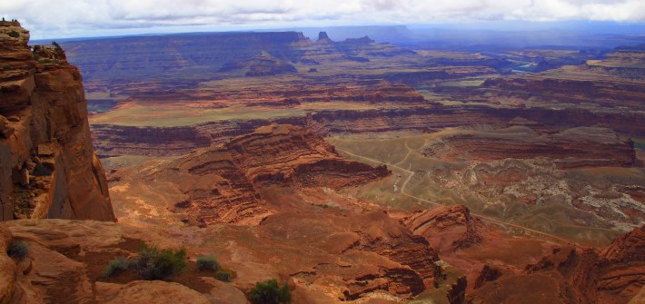 Travelling Utah with a Camperan - Dead Horse Point State Park
