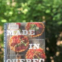 The Year in Books: August with Made In Quebec by Julian Armstrong