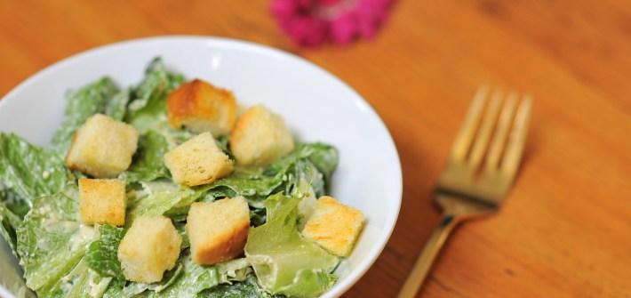 Easy Cheater's Caesar Salad Dressing