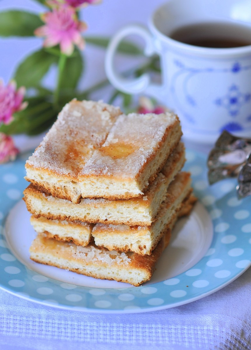 Oma's Butterkuchen - German Butter Cake