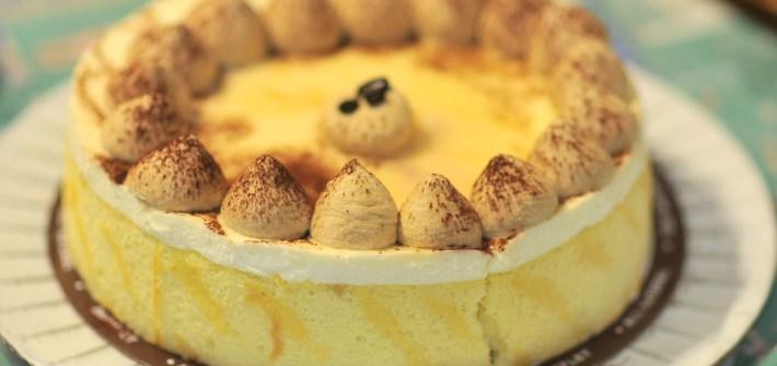 Dufflet Tiramisu Birthday Cake