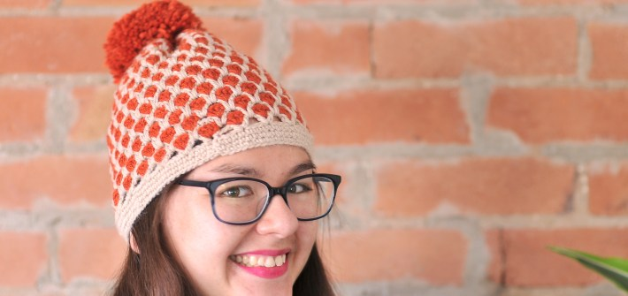 Crochet Pineapple Toque with Free Pattern