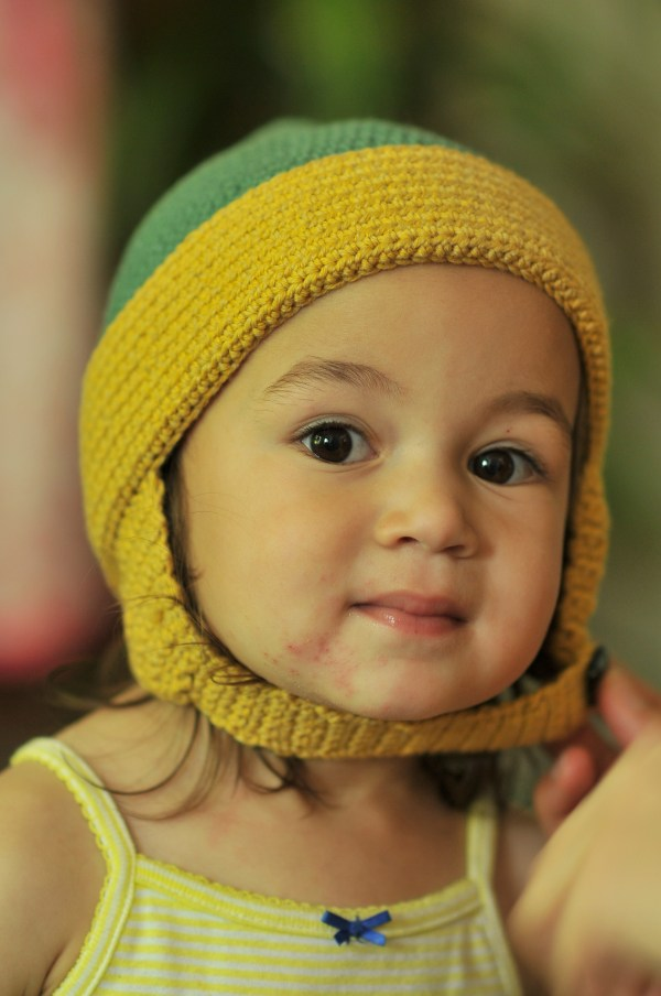 Crochet Toddler Earflap Hat