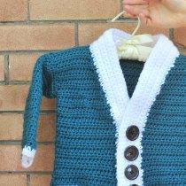 DIY Crochet Cutie Baby Cardigan