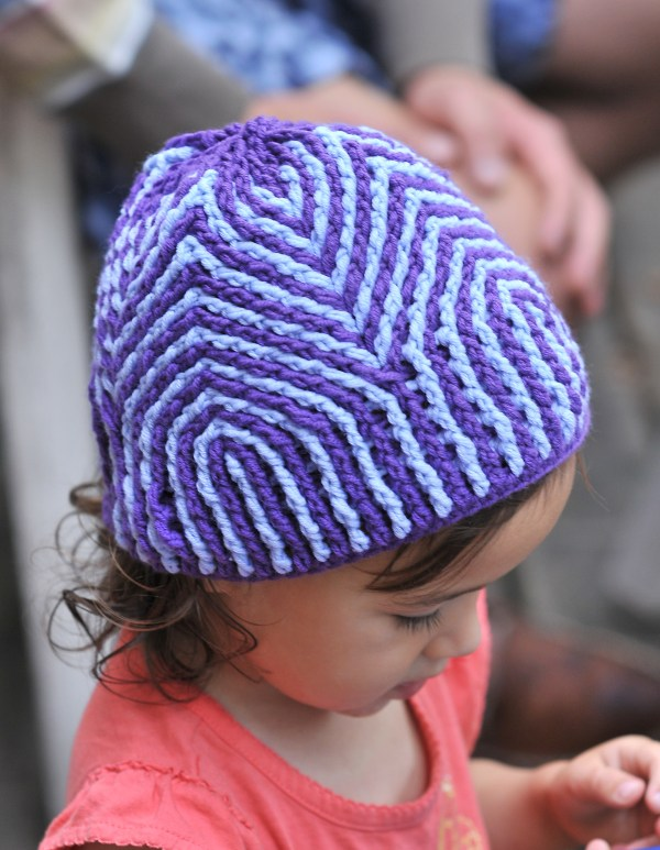 DIY Crochet Cathedral Hat by Mamachee