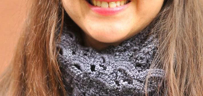 DIY Crochet Emma Lace Scarf by Simona Merchant-Dest
