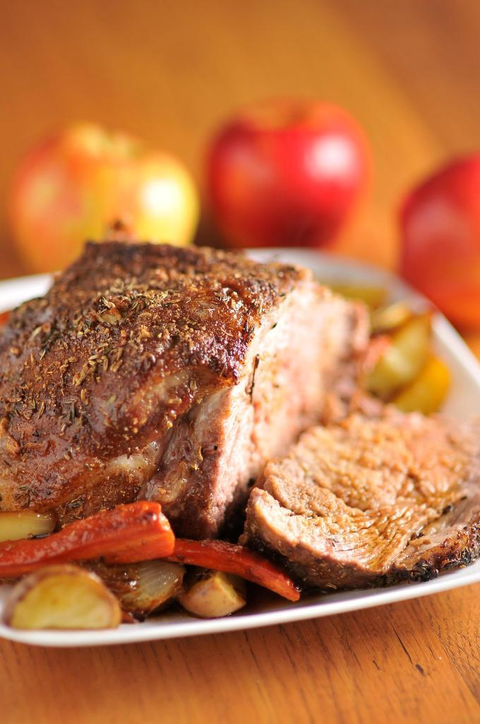Roast Pork Loin with Fennel and Thyme | Kiku Corner