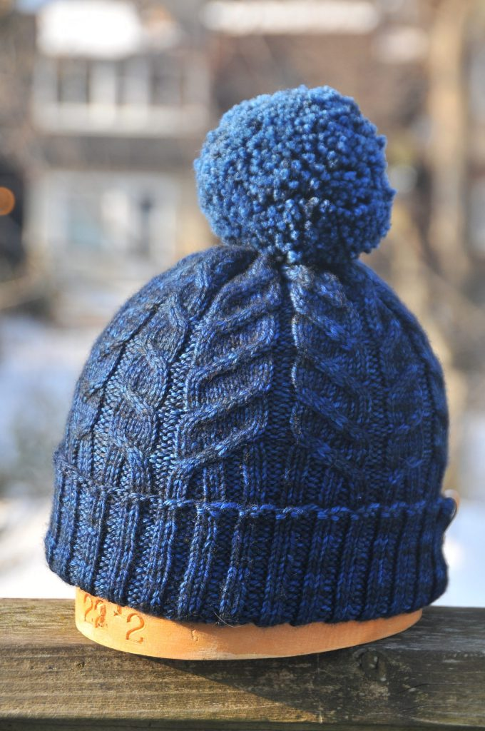 Knit October Hat and Free Pattern by Sloane Rosenthal