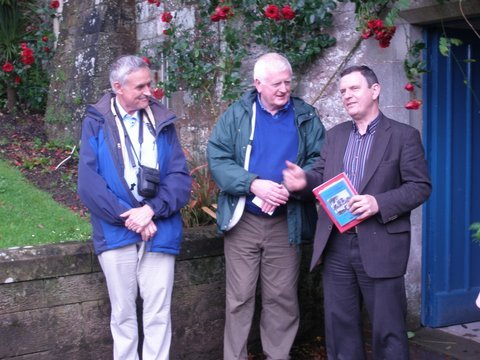 Denis Nevin sharing information with Hugh and Con