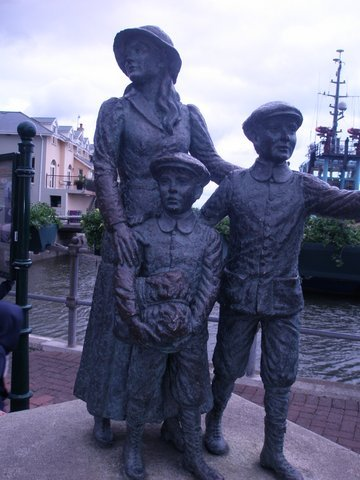 The Annie Moore Statue