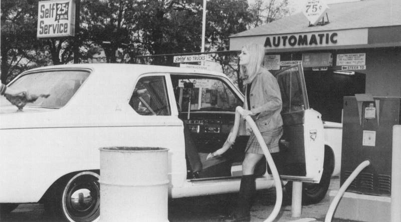 Old Baltimore gas stations